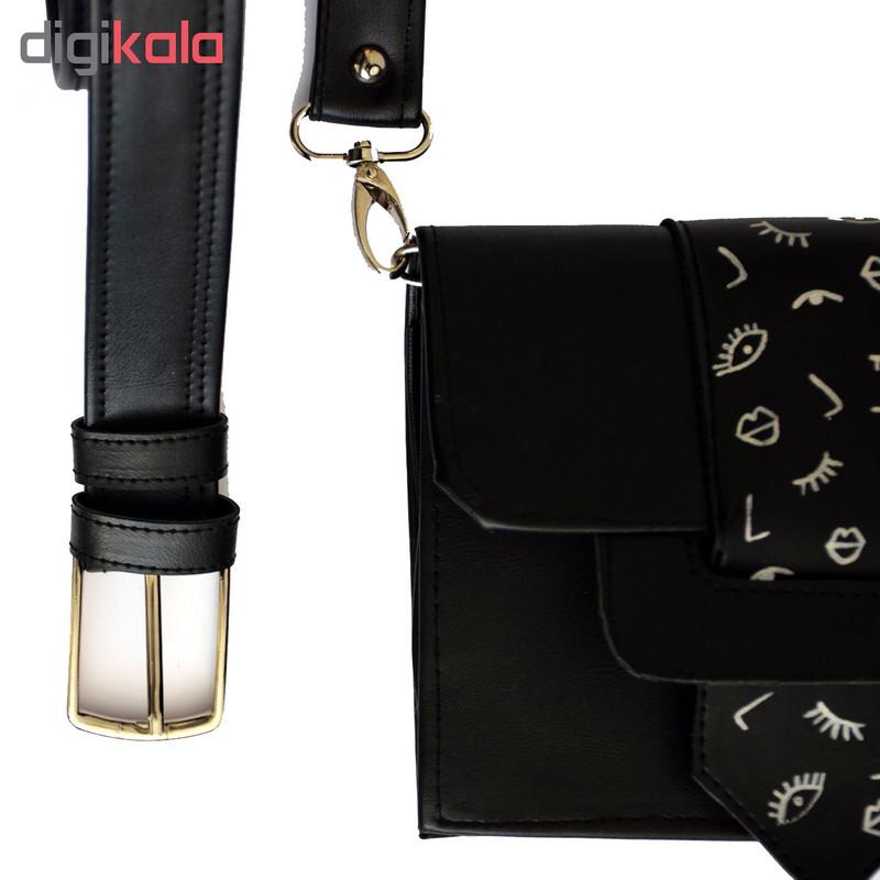 کیف دوشی زنانه دالاوین کد B-6