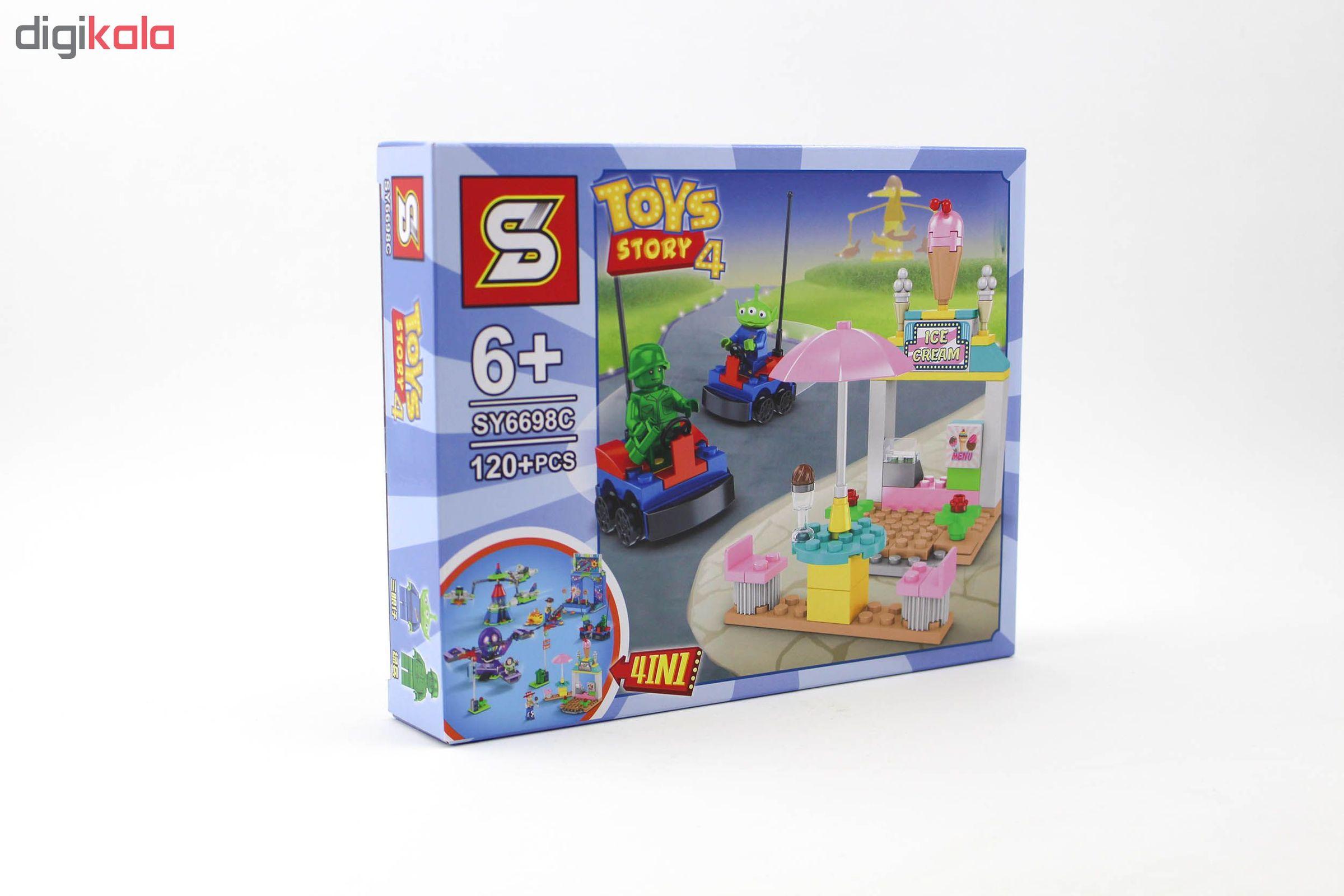 ساختنی اس وای مدل داستان اسباب بازی ها 4 کد SY6698C