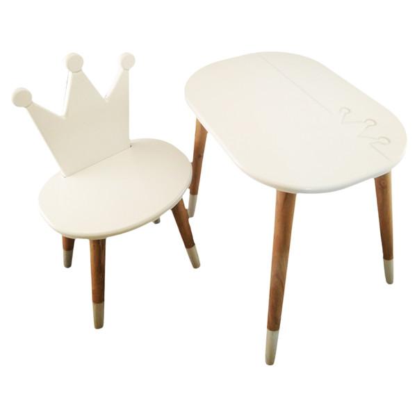 ست میز و صندلی کودک مدل Crown