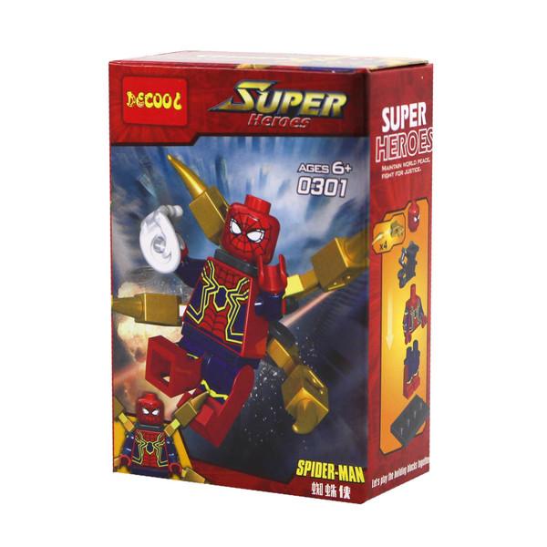 ساختنی دکول مدل مرد عنکبوتی کد 0301
