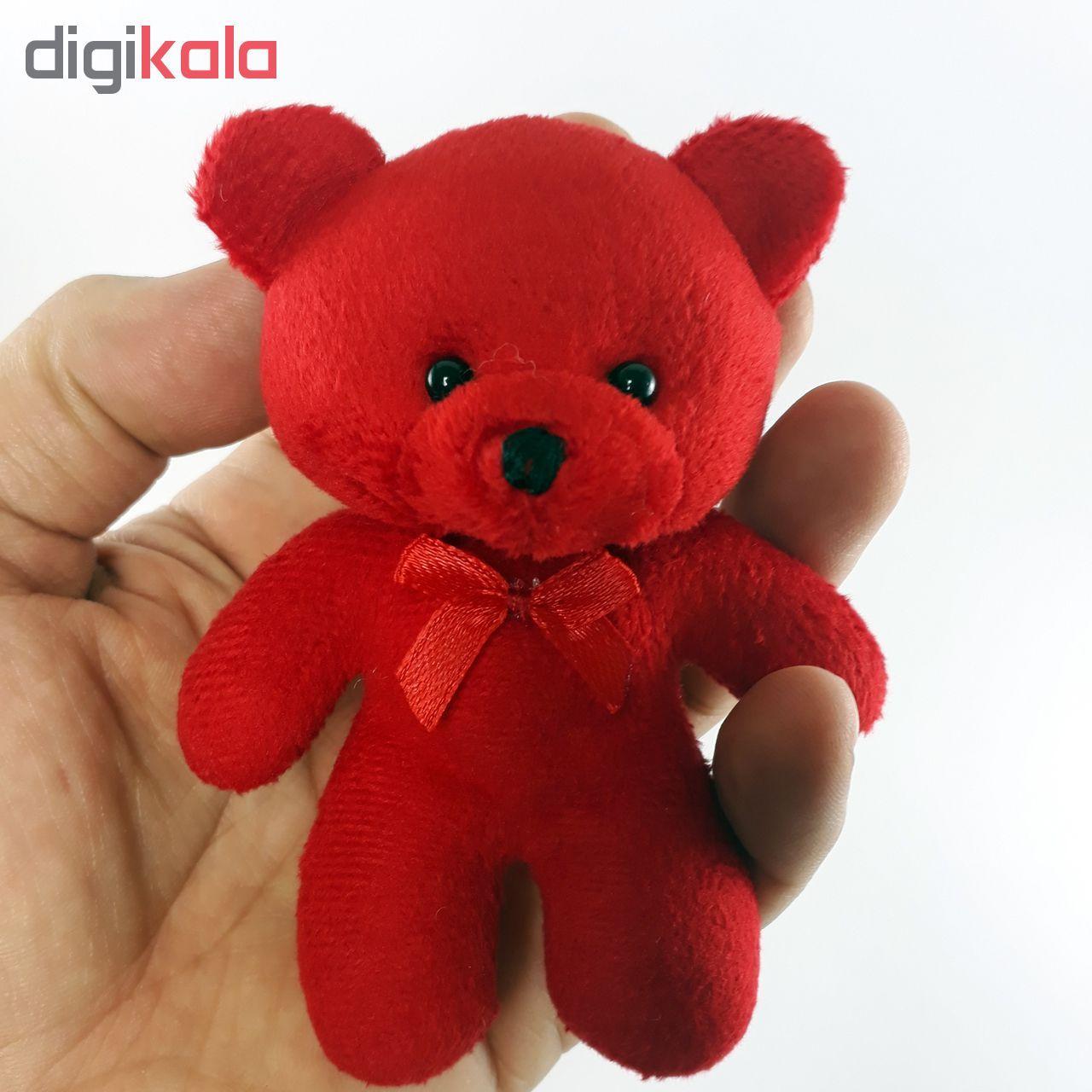 عروسک طرح خرس ارتفاع 12 سانتیمتر main 1 1