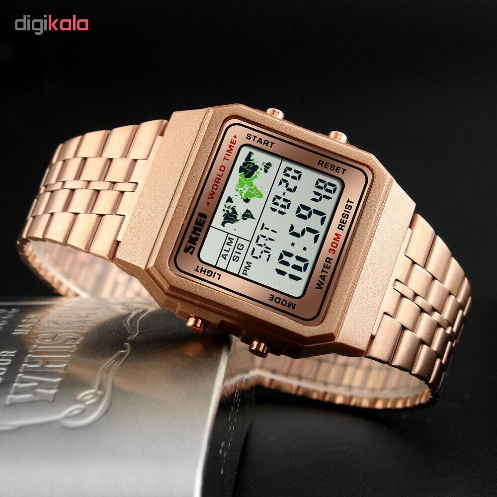 ساعت مچی دیجیتال اسکمی مدل 1338R             قیمت