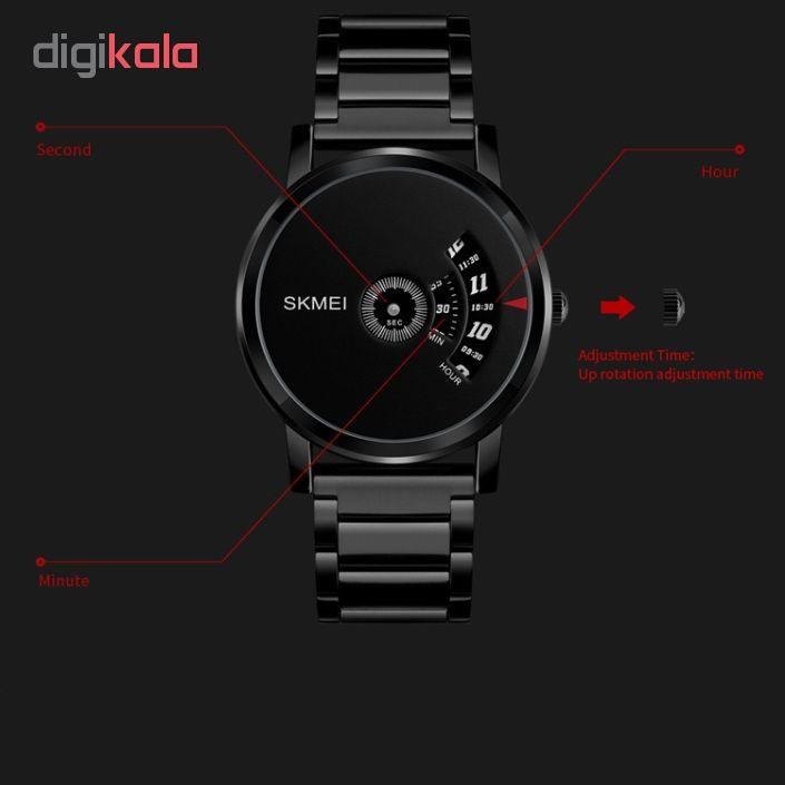 کد تخفیف                                       ساعت مچی عقربه ای مردانه اسکمی مدل 1260