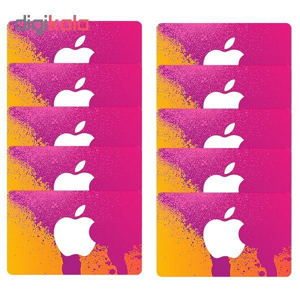 اپل آیدی بدون اعتبار اولیه مدل A3  بسته 10 عددی main 1 1