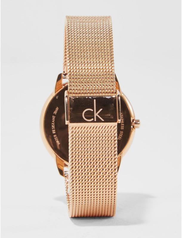 ساعت مچی عقربه ای زنانه کلوین کلاین مدل K3M216.26
