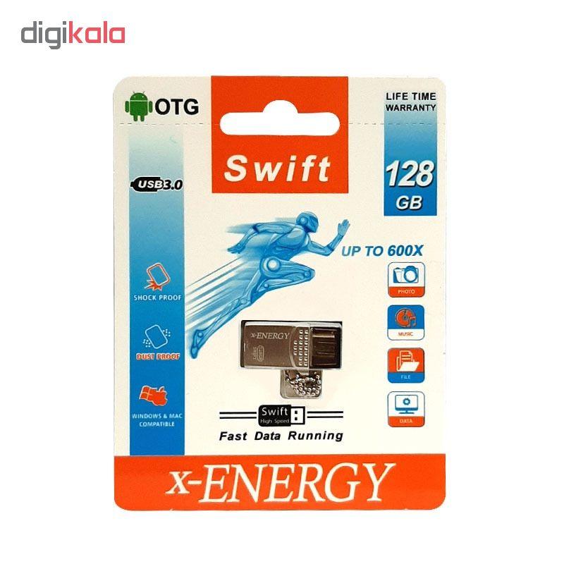 فلش مموری ایکس-انرژی مدل SWIFT ظرفیت 128 گیگابایت