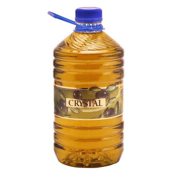 روغن زیتون کریستال طلایی - 3 کیلوگرم