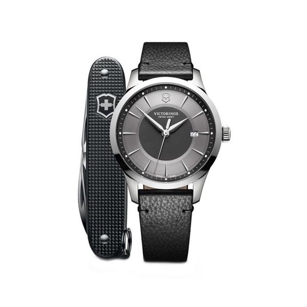 ساعت مچی عقربه ای مردانه ویکتورینوکس به همراه چاقو مدل 241804.1