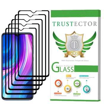 محافظ صفحه نمایش تراستکتور مدل GSS مناسب برای گوشی موبایل شیائومی Redmi Note 8 Pro بسته 5 عددی