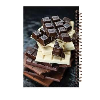دفتر یادداشت آف تاب شهر طرح شکلات کد 2132
