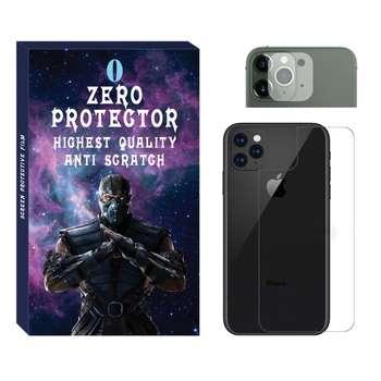 محافظ پشت گوشی زیرو  مدل SDZ-01 مناسب برای گوشی موبایل اپل Iphone 11 Pro max به همراه محافظ لنز دوربین