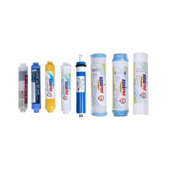 فیلتر دستگاه تصفیه کننده آب خانگی مدل RO-8 مجموعه 8 عددی