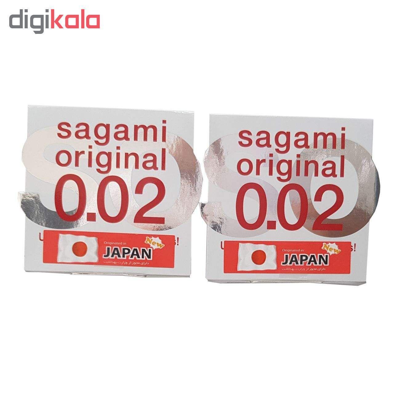 کاندوم ساگامی مدل نرمال مجموعه 4 عددی به همراه کاندوم بادی گارد مدل مکس پلژر مجموعه 4 عددی main 1 2
