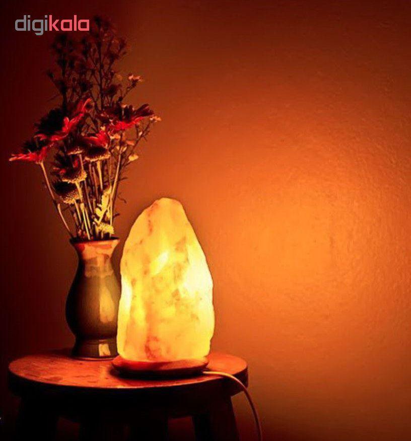 چراغ خواب سنگ نمک طرح صخره مدل Deform03 main 1 1
