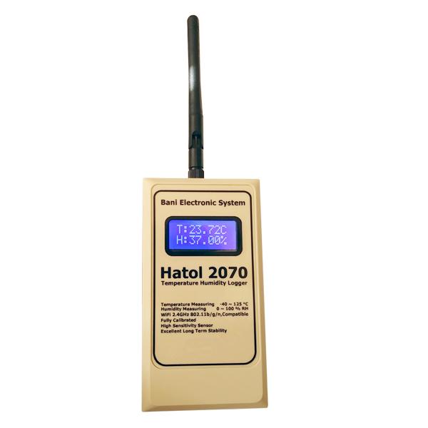 دیتالاگر دما و رطوبت هاتول مدل 2070