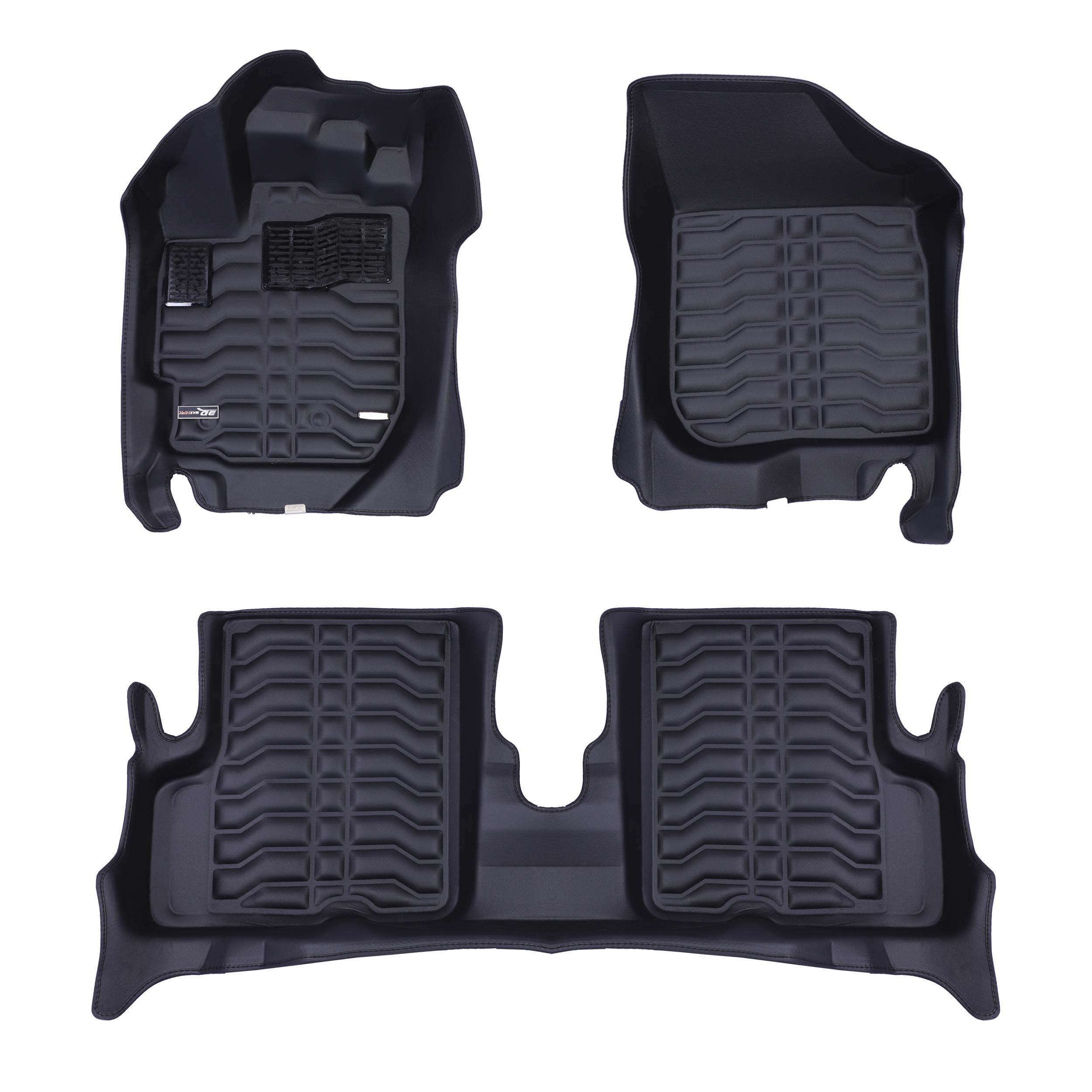 کفپوش سه بعدی خودرو تری دی مکس اچ اف کی مدل HS12003 مناسب برای رنو داستر