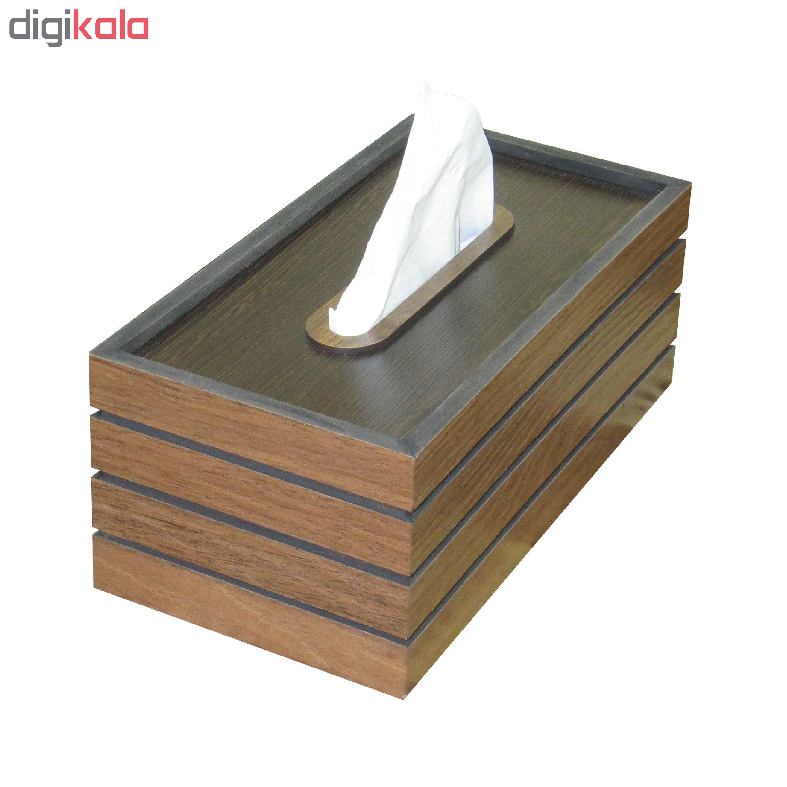 جعبه دستمال کاغذی کد DT-811
