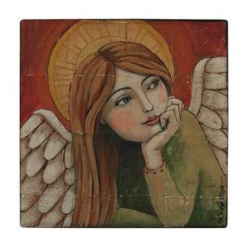 کاشی طرح فرشته کد wk56