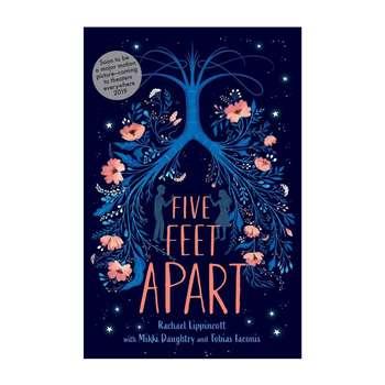 کتاب  five feet apart اثر جمعی از نویسندگان انتشارات Simon & Schuster