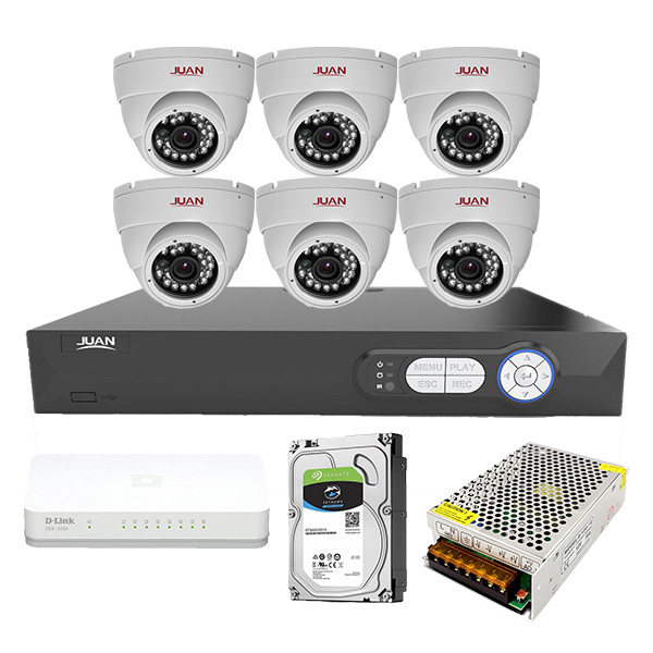سیستم امنیتی تحت شبکه ژوان مدل JA-6IPC9206