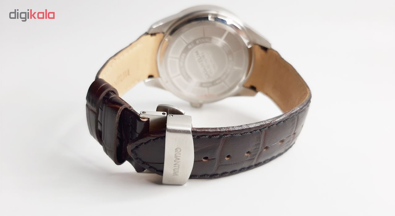 کد تخفیف                                      ساعت مچی عقربه ای مردانه کوانتوم کد SMG493.572