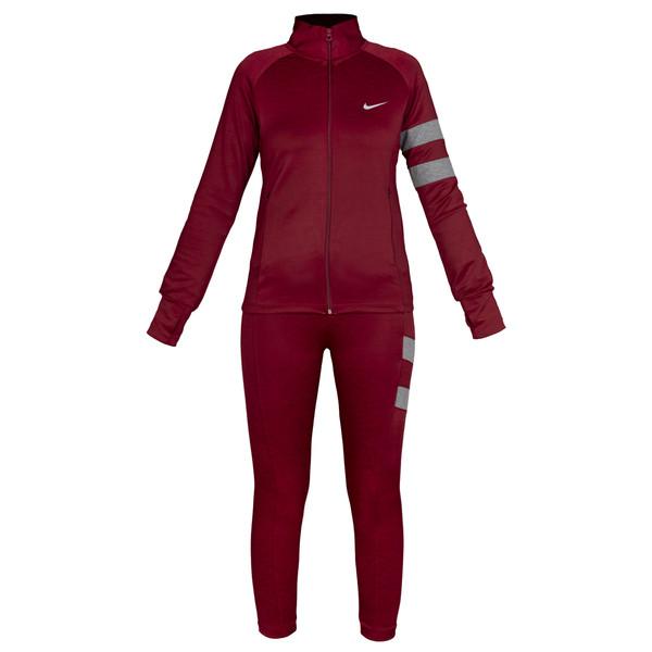 ست سویشرت و شلوار ورزشی زنانه کد 025-2373 رنگ قرمز