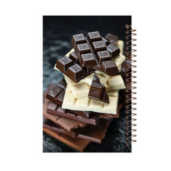 دفتر یادداشت آف تاب شهر طرح شکلات کد 2139