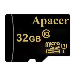 کارت حافظه microSDHC اپیسر مدل AP32GA کلاس 10 استاندارد UHS-I U1 سرعت 45MBps ظرفیت 32 گیگابایت
