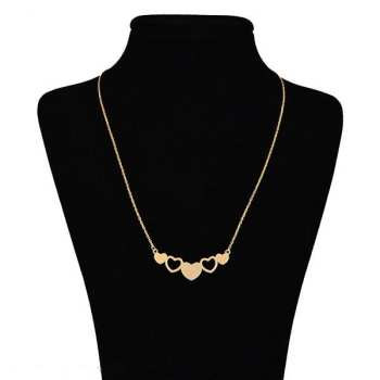 گردنبند طلا 18 عیار زنانه زرلوکس طرح قلب کد 90