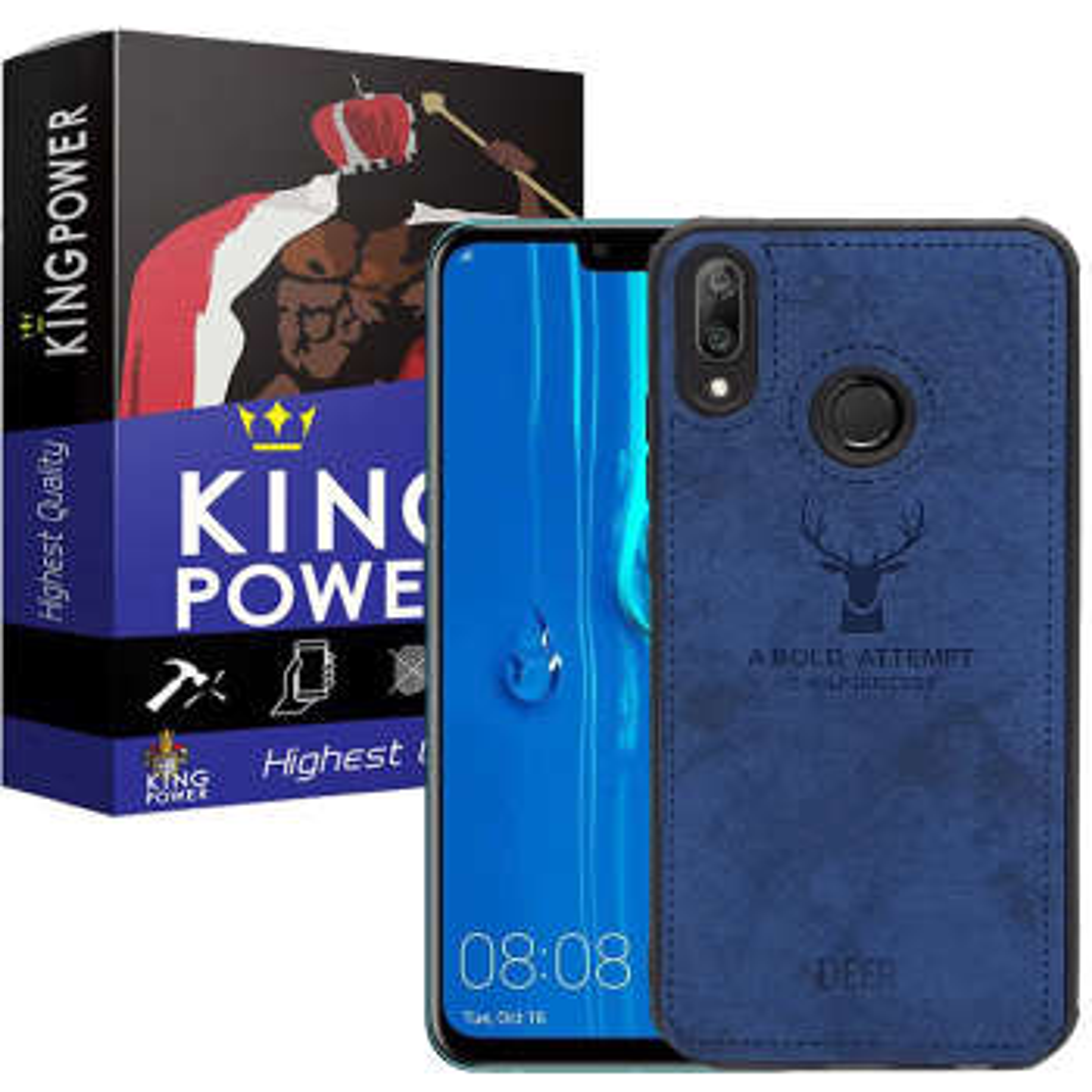 کاور کینگ پاور مدل D121 مناسب برای گوشی موبایل هوآوی Y9 2019