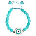 دستبند زنانه طرح چشم نظر کد A02 thumb