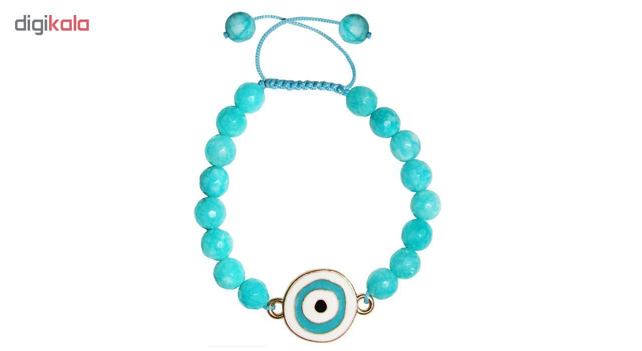 دستبند زنانه طرح چشم نظر کد A02 main 1 2