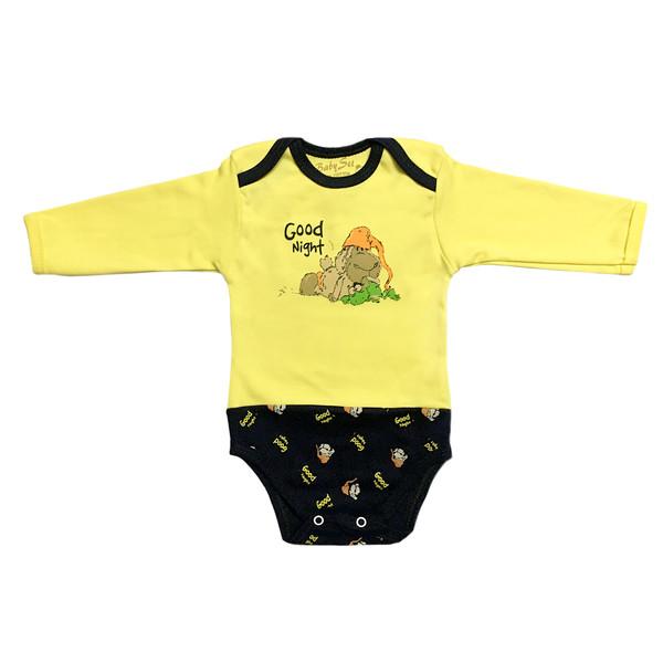 بادی نوزادی بیبی ست طرح بره کد 04