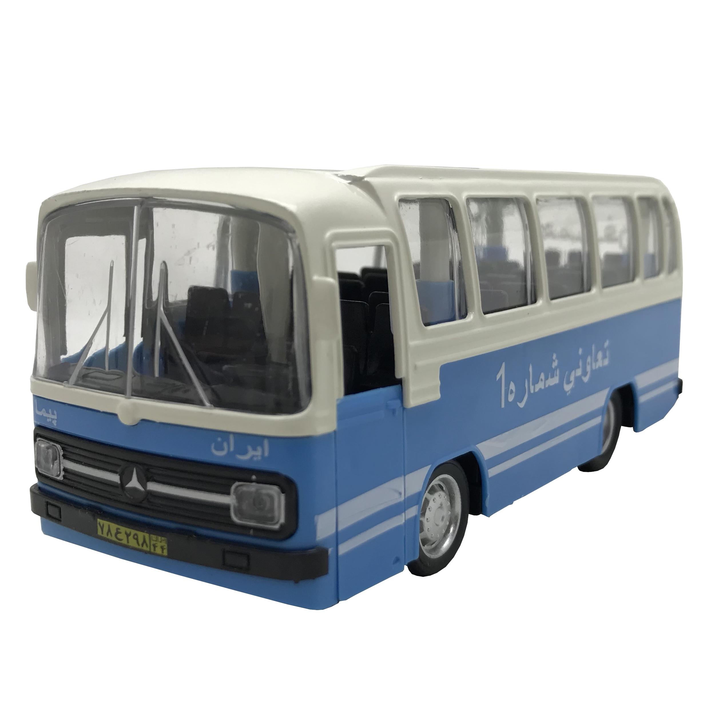 خرید                     ماشین بازی طرح اتوبوس تعاونی 302 کد 02