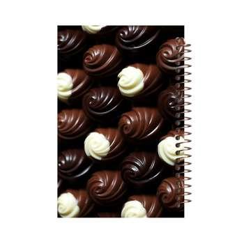 دفتر یادداشت آف تاب شهر طرح شکلات کد 2145