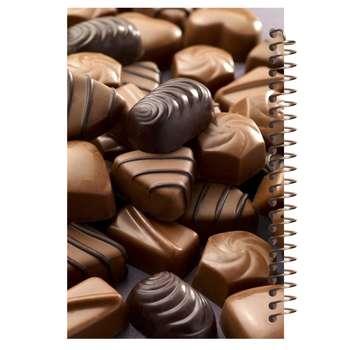 دفتر یادداشت آف تاب شهر مدل شکلات کد 4254