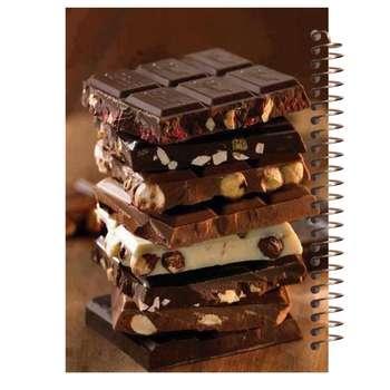 دفتر یادداشت آف تاب شهر مدل شکلات کد 4257