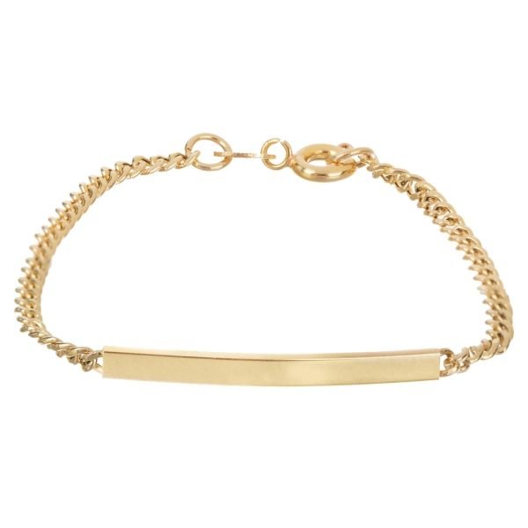 دستبند طلا ۱۸ عیار دخترانه الین گلد گالری کد d1300