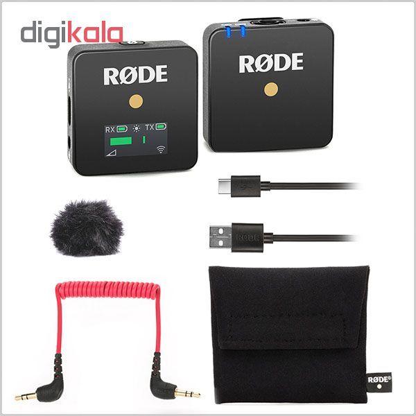 میکروفون بی سیم رود مدل Wireless GO main 1 2