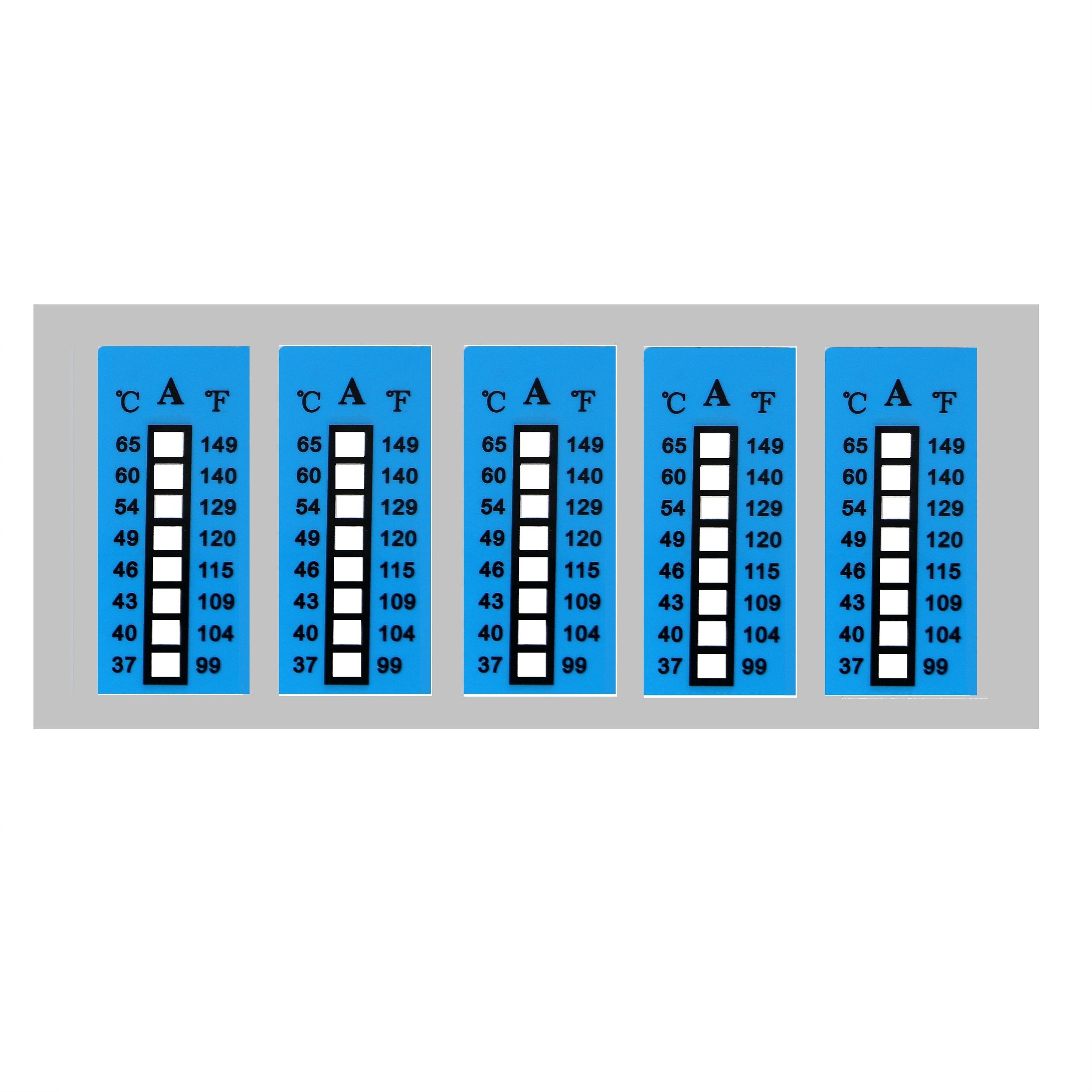 بر چسب دماسنج محیطی کد 090 بسته 5 عددی