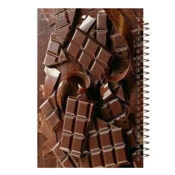 دفتر یادداشت آف تاب شهر مدل شکلات کد 4265