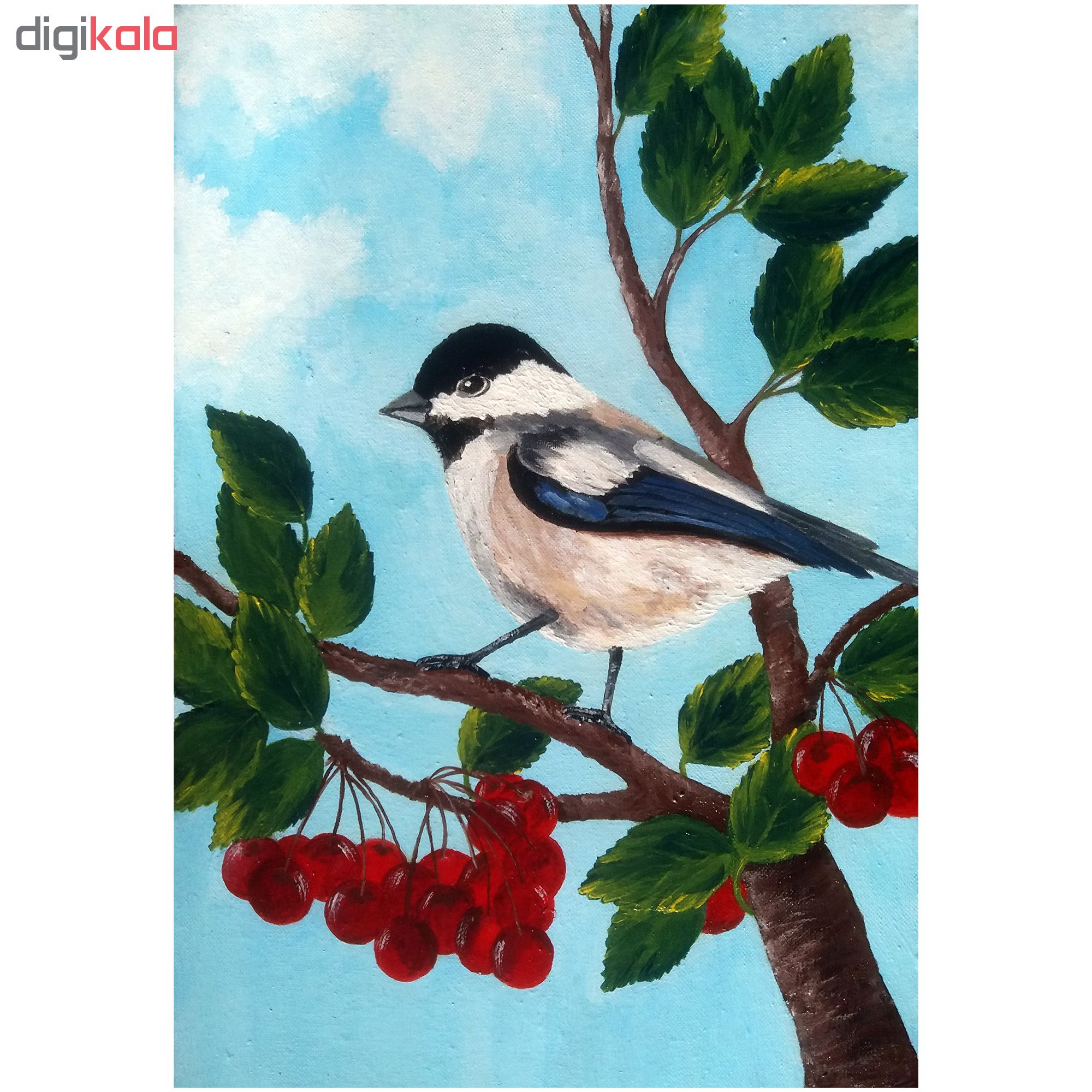 خرید                      تابلو نقاشی اکریلیک طرح پرنده
