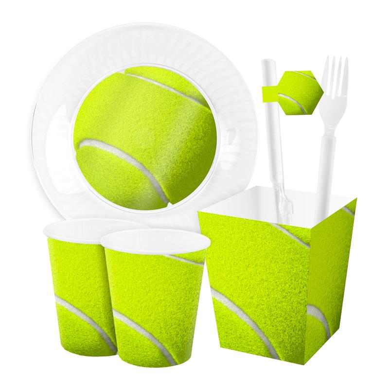 عکس مجموعه 46 عددی تم تولد طرح تنیس