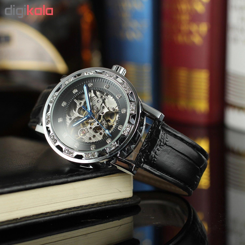 کد تخفیف                                      ساعت مچی عقربه ای مردانه فورسنینگ مدل FSG8012M3S6