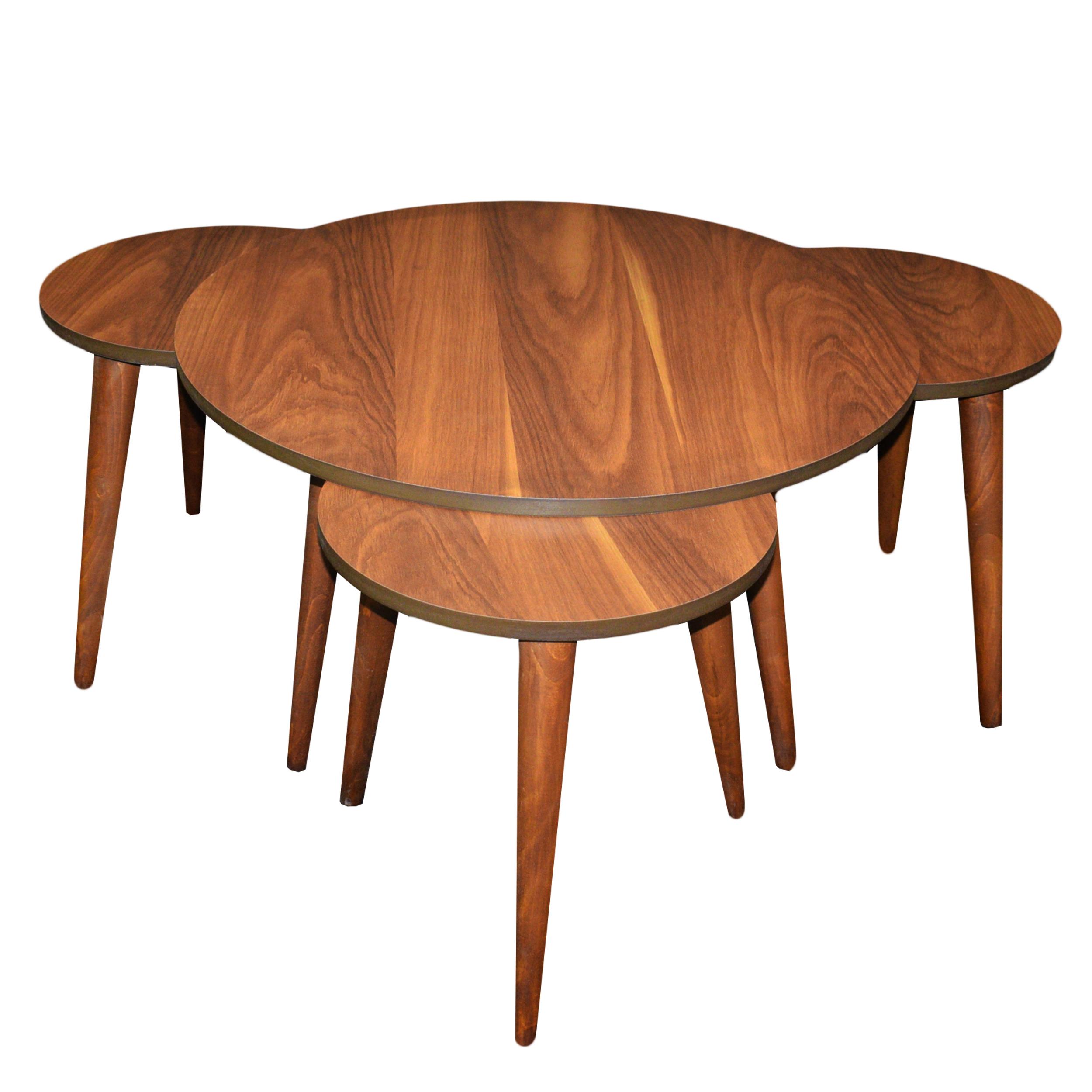 میز پذیرایی مدل DAY مجموعه 4 عددی