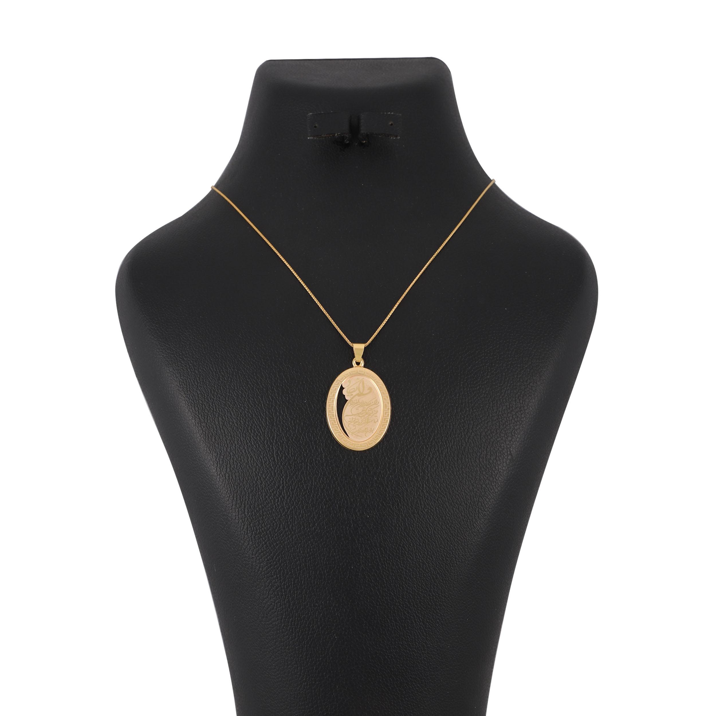 گردنبند طلا 18 عیار زنانه کد G574