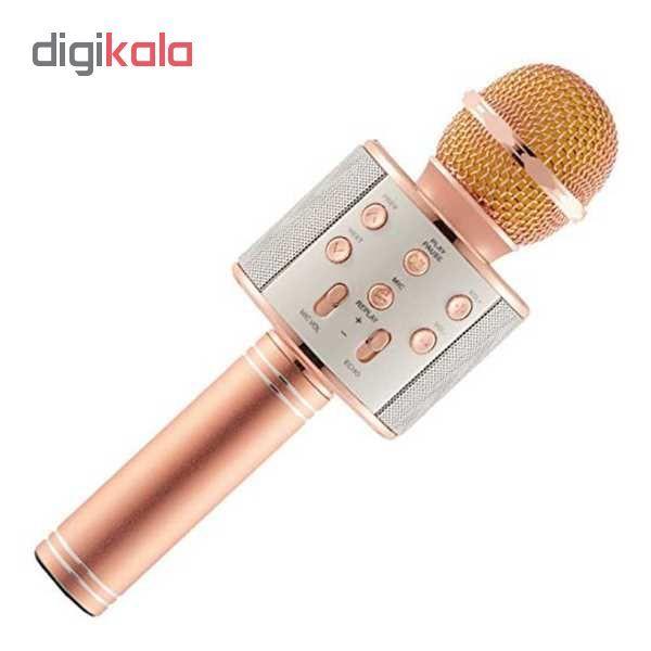 میکروفون اسپیکر بلوتوثی کد858 main 1 1
