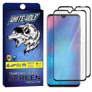 محافظ صفحه نمایش وایت ولف مدل WGF مناسب برای گوشی موبایل هوآوی  P30 Lite بسته 2 عددی