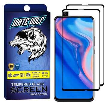 محافظ صفحه نمایش وایت ولف مدل WGF مناسب برای گوشی موبایل هوآوی  Y9 Prime 2019 بسته 2 عددی