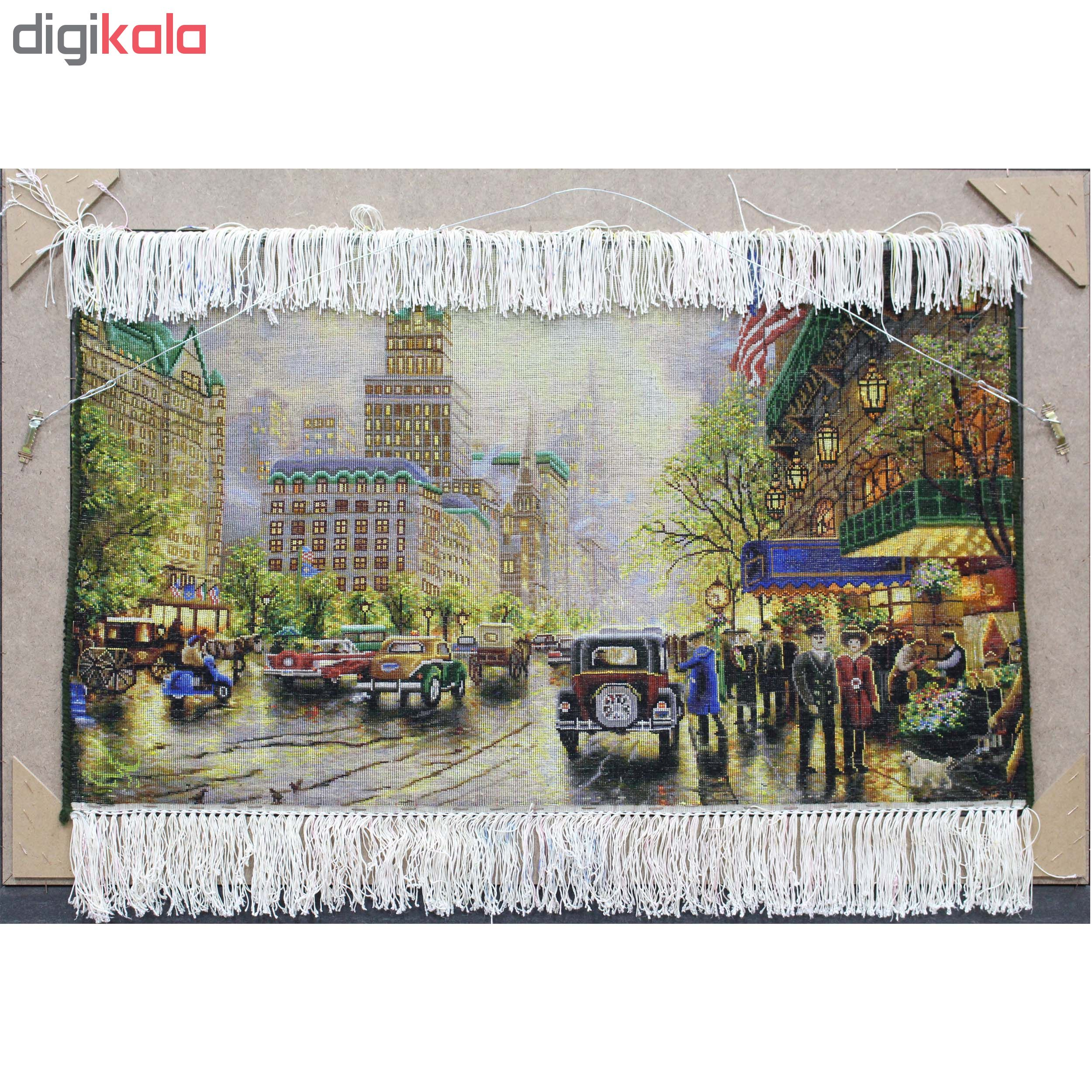 Handmade Persian New York carpet tableau, code138